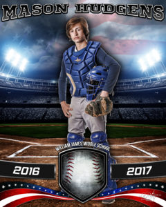 S american_baseball_16x20_catcher